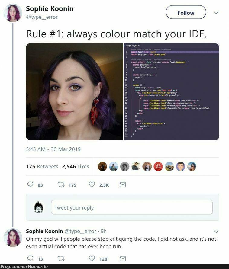 Programmers :D   programmer-memes, code-memes, program-memes, error-memes, ide-memes, retweet-memes   ProgrammerHumor.io