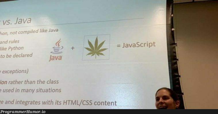 Interesting theory   html-memes, css-memes, rest-memes, ML-memes, cs-memes   ProgrammerHumor.io