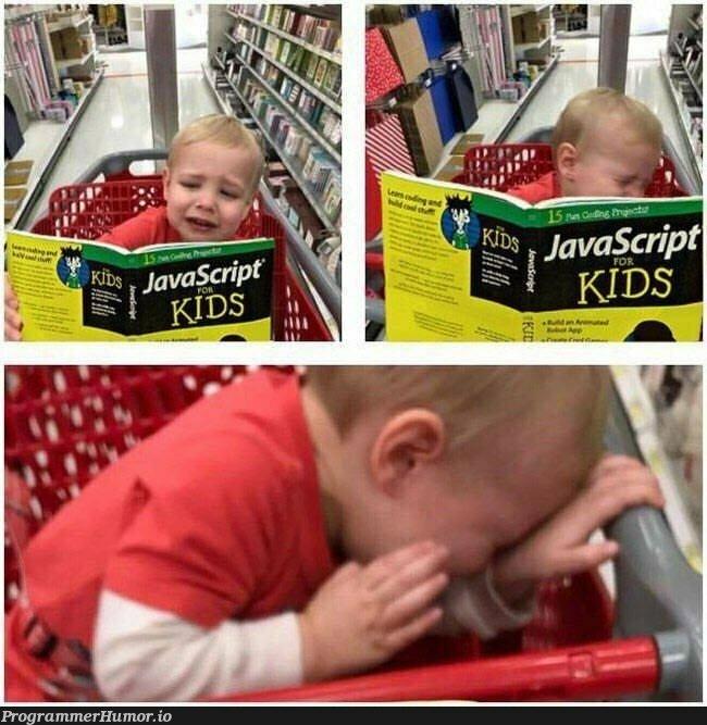 JavaScript for Kids   javascript-memes, java-memes   ProgrammerHumor.io