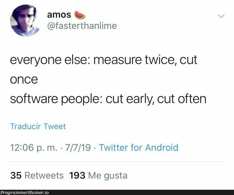 If you know, you know   software-memes, android-memes, twitter-memes, retweet-memes   ProgrammerHumor.io