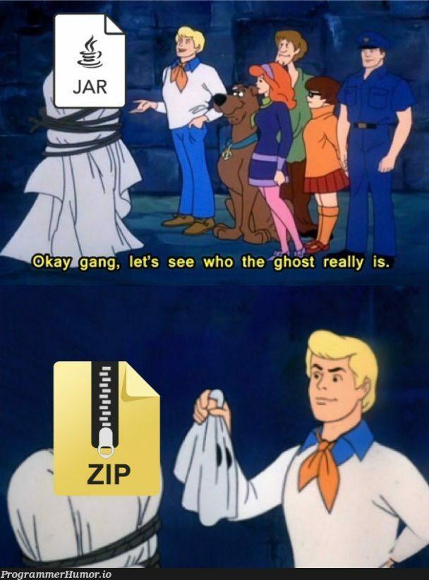 Let's see who *.jar really is.. | jar-memes | ProgrammerHumor.io