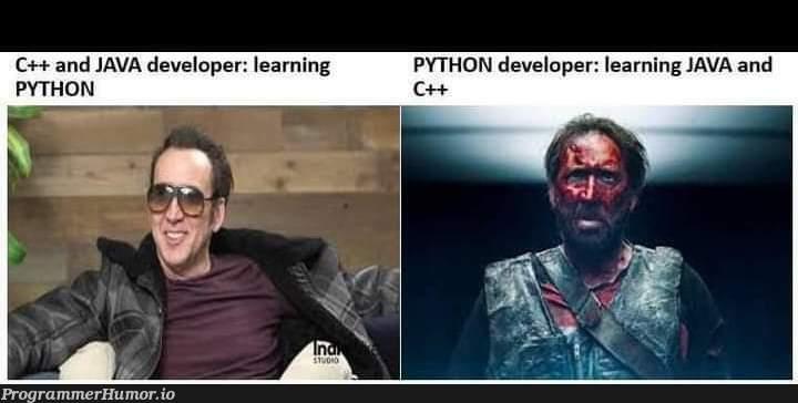 Java developers | developer-memes, java-memes, python-memes, c++-memes | ProgrammerHumor.io