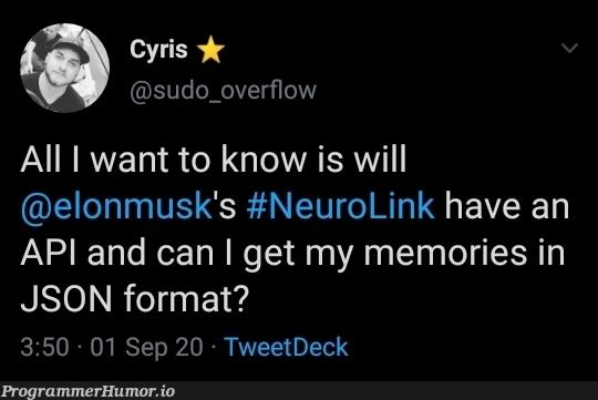 That would be great | json-memes, overflow-memes, sudo-memes | ProgrammerHumor.io