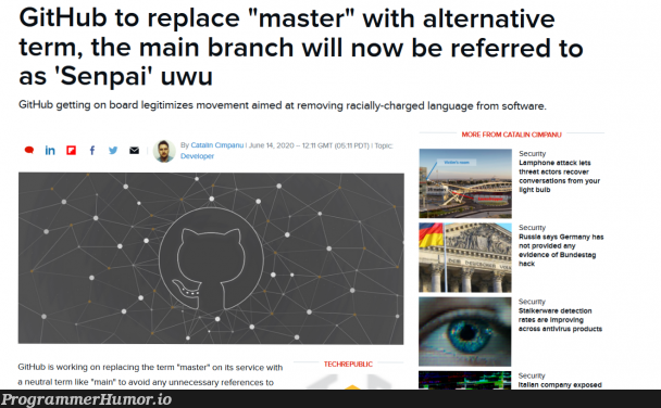 Times are Changing Guys | developer-memes, software-memes, virus-memes, antivirus-memes, git-memes, github-memes, security-memes, ssl-memes, ide-memes, language-memes, product-memes | ProgrammerHumor.io