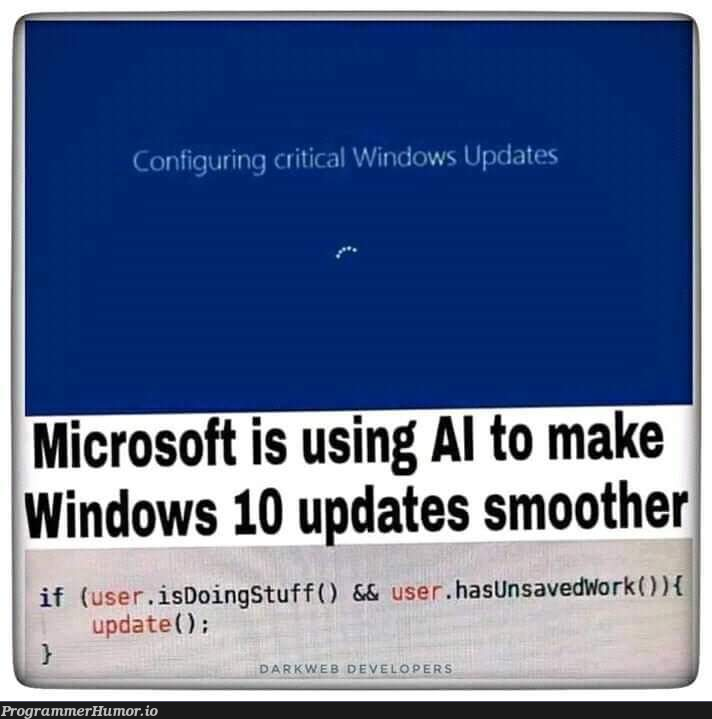 Well this is some serious gourmet shit   windows-memes, date-memes, microsoft-memes   ProgrammerHumor.io