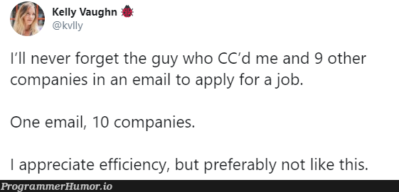 Should have used BCC   email-memes   ProgrammerHumor.io