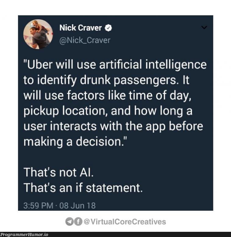 Uber using