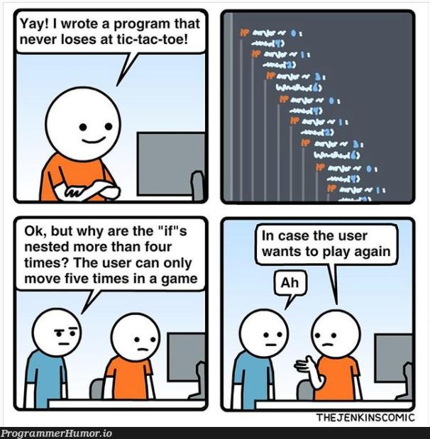 if | program-memes, jenkins-memes | ProgrammerHumor.io