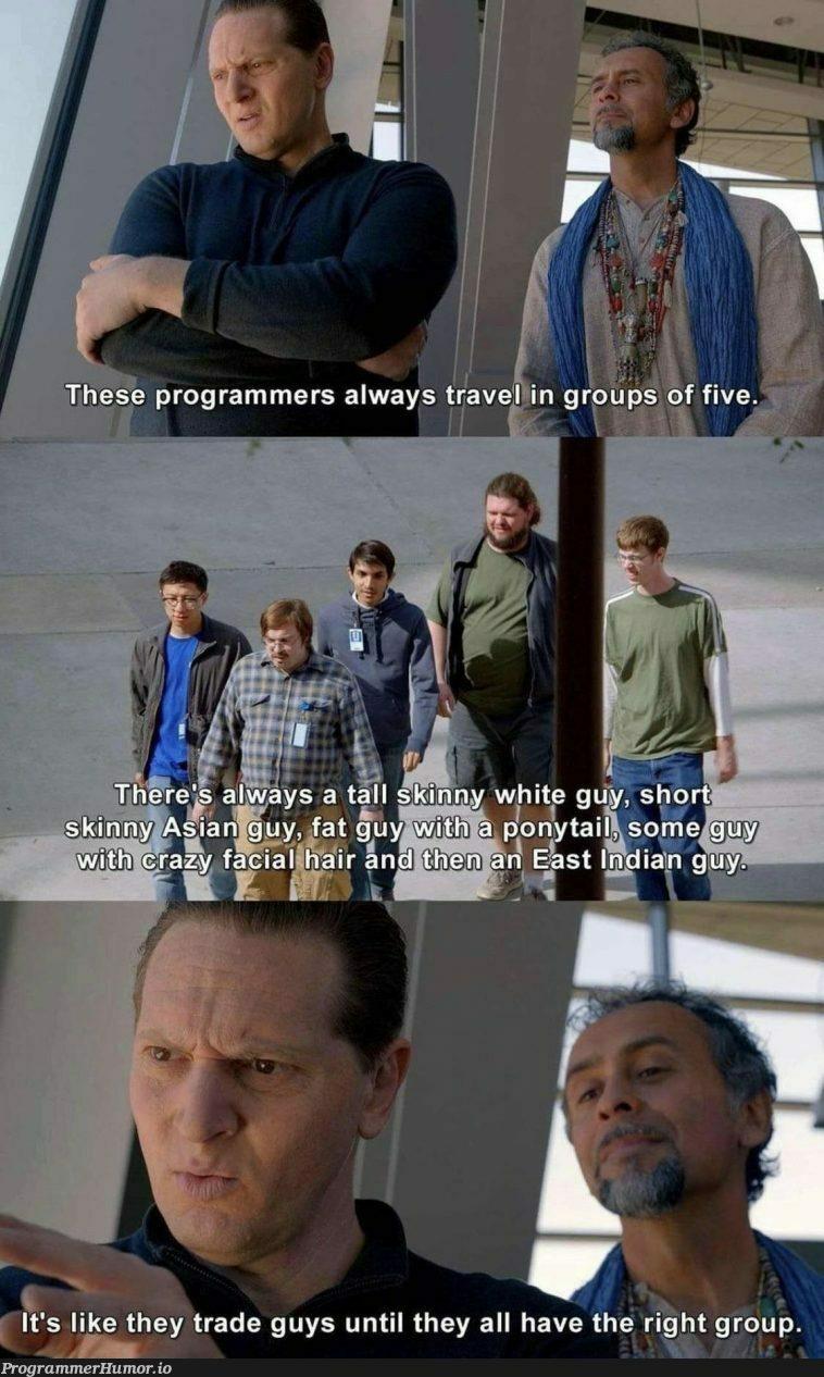 I'm the skinny white man | programmer-memes, program-memes | ProgrammerHumor.io