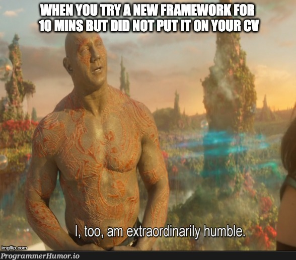 Recruiters: Guess it's a no | try-memes, recruiters-memes, recruit-memes, framework-memes | ProgrammerHumor.io