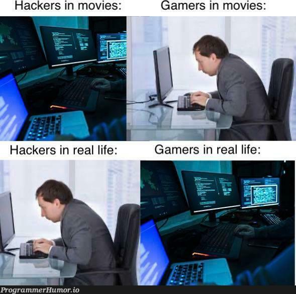 Cybersecurity.. not what I thought it was. | hacker-memes, security-memes, IT-memes | ProgrammerHumor.io