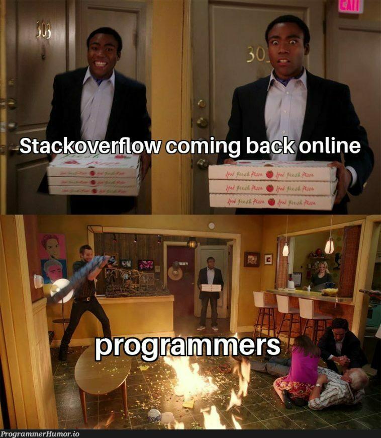 Welcome to the apocalypse   ProgrammerHumor.io