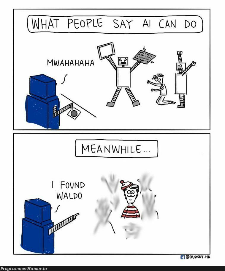 AI will take over the world | ProgrammerHumor.io