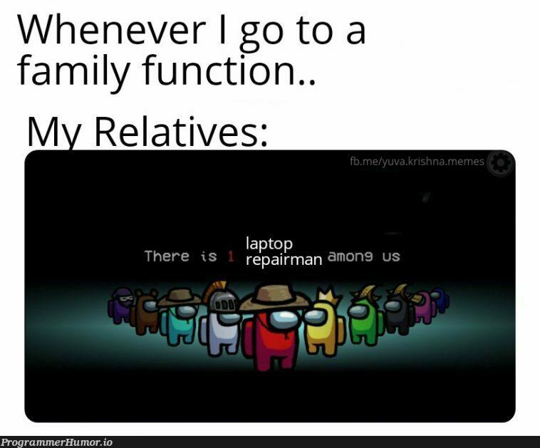 The programmers destiny.. | programmer-memes, program-memes, function-memes, laptop-memes, repair-memes | ProgrammerHumor.io