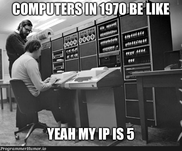 ay what's your ip | ProgrammerHumor.io