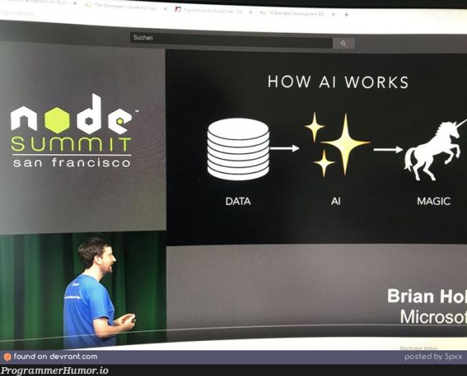 How AI Works   data-memes   ProgrammerHumor.io