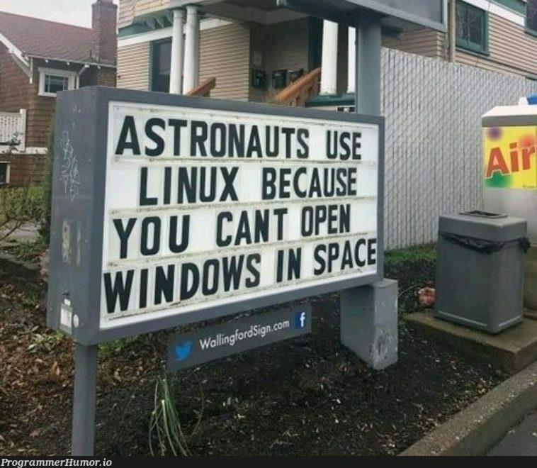 So, That's Why!!!   ProgrammerHumor.io