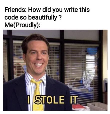 I stole this meme   code-memes   ProgrammerHumor.io