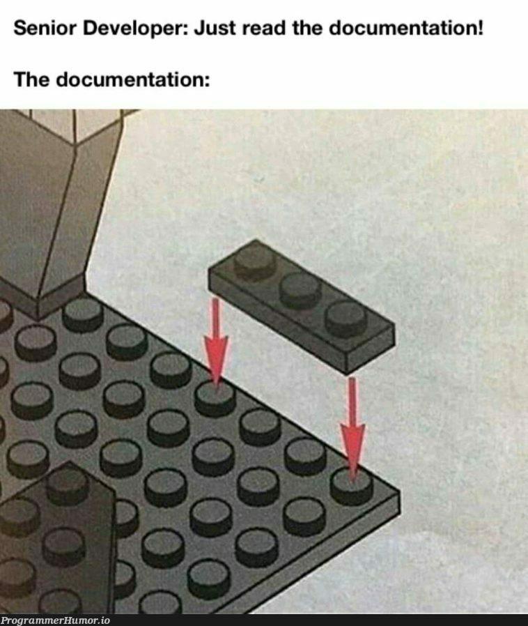 Documents   developer-memes, documentation-memes   ProgrammerHumor.io