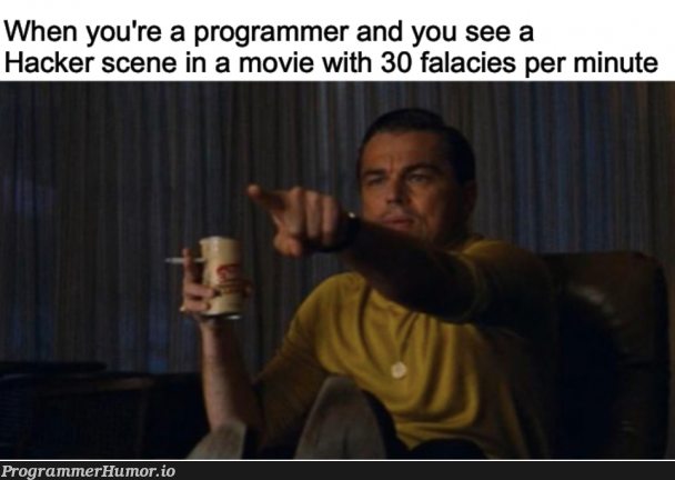 Yeah you can obviously break into CIA servers in 30 seconds   programmer-memes, hacker-memes, program-memes, server-memes, servers-memes   ProgrammerHumor.io