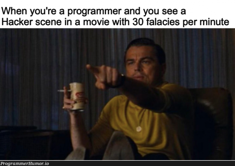Yeah you can obviously break into CIA servers in 30 seconds | programmer-memes, hacker-memes, program-memes, server-memes, servers-memes | ProgrammerHumor.io