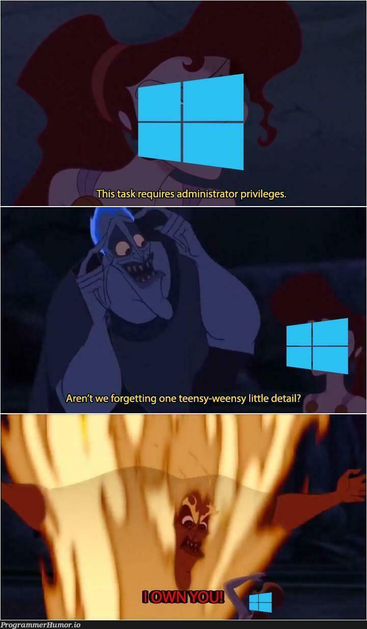 Just let me fucking do it | ProgrammerHumor.io