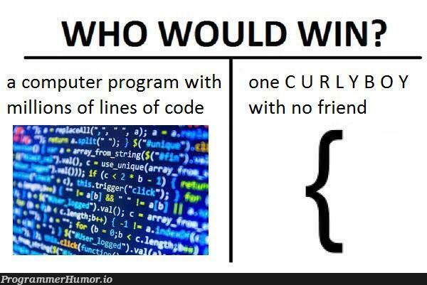 I wonder... | code-memes, computer-memes, program-memes, lines of code-memes, url-memes, curl-memes | ProgrammerHumor.io