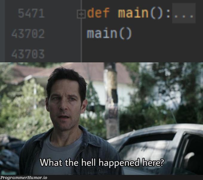 that must have been hard encoding   coding-memes   ProgrammerHumor.io