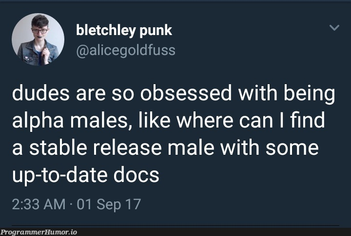 The kind of feminism we need in Tech industry   tech-memes, try-memes, date-memes, release-memes, cs-memes   ProgrammerHumor.io