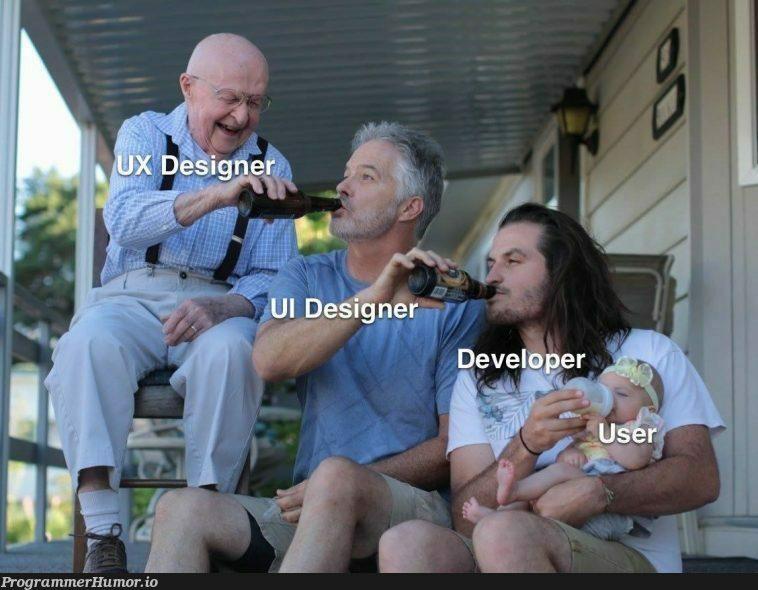 I'm an UI Designer, what's you ?? 😂   design-memes, designer-memes   ProgrammerHumor.io