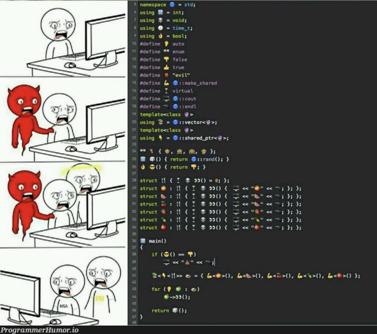 Devil among us   ProgrammerHumor.io