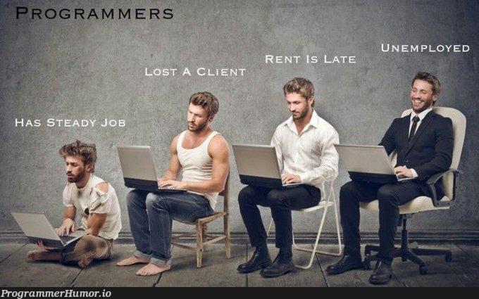 Programmer stages   programmer-memes, program-memes   ProgrammerHumor.io