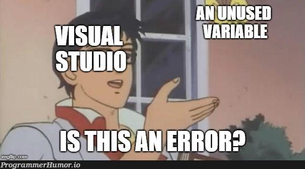 Visual Studio in a nutshell | visual studio-memes, shell-memes | ProgrammerHumor.io