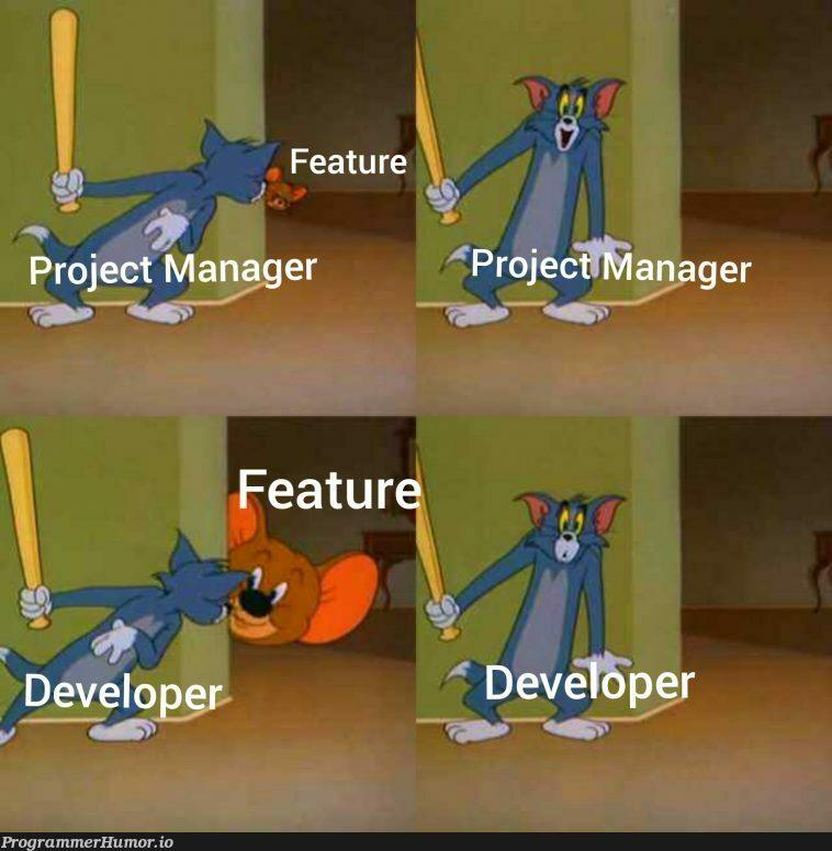 Project estimates   ProgrammerHumor.io