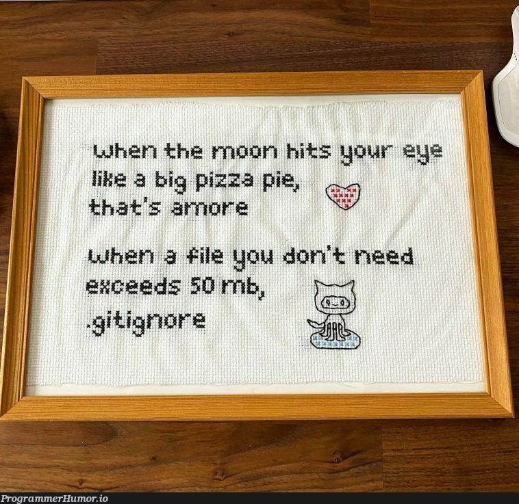 My girlfriend crocheted my favourite meme as a birthday gift | ProgrammerHumor.io