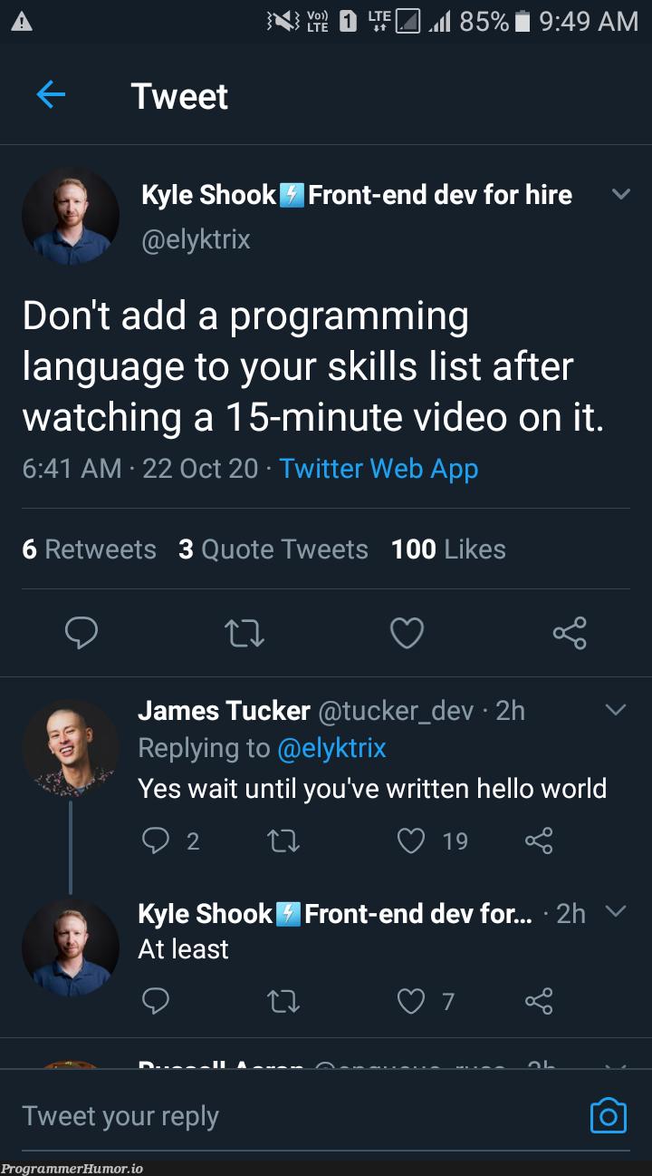 Fgs guys :/   programming-memes, web-memes, program-memes, list-memes, ide-memes, twitter-memes, retweet-memes, language-memes, front-end-memes, programming language-memes   ProgrammerHumor.io