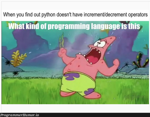Where ++   programming-memes, python-memes, program-memes, language-memes, programming language-memes   ProgrammerHumor.io