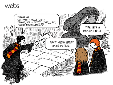 Harry speaks Python | python-memes | ProgrammerHumor.io
