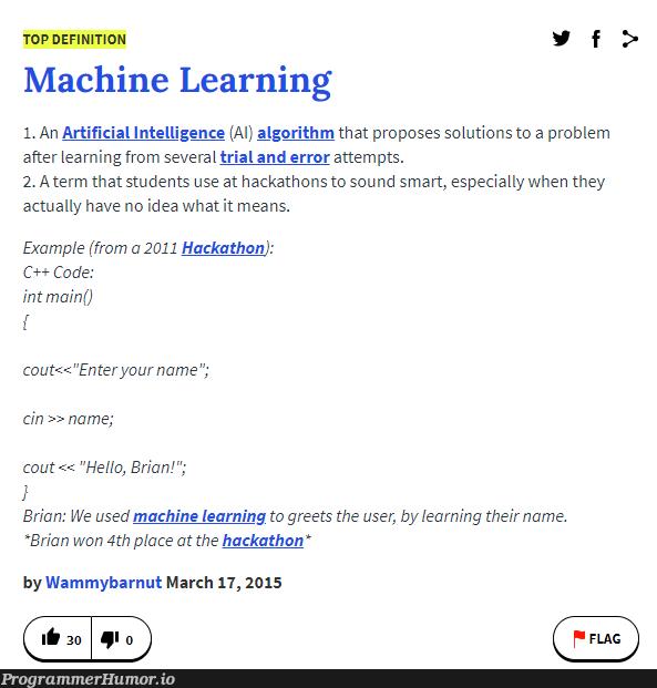 Error: 'name' has not been declared | code-memes, machine learning-memes, c++-memes, machine-memes, algorithm-memes, error-memes, IT-memes, idea-memes, ide-memes, mac-memes, artificial intelligence-memes | ProgrammerHumor.io