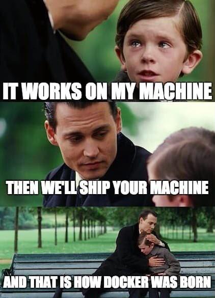 It works on my machine... | machine-memes, IT-memes, mac-memes, ML-memes | ProgrammerHumor.io