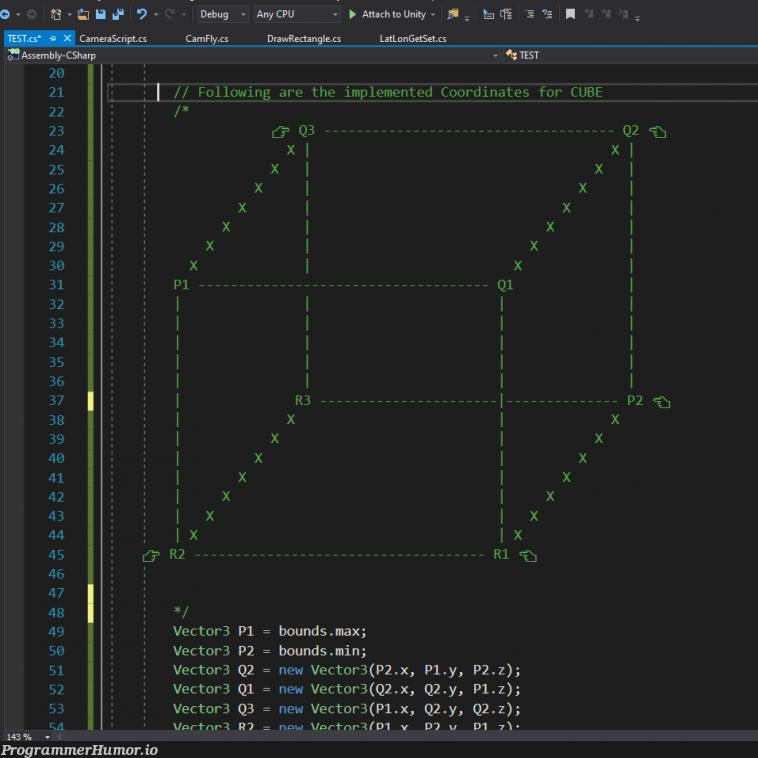 When someone tells me to document my code...   code-memes, ML-memes   ProgrammerHumor.io