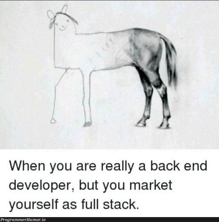 Partially evolved developers | developer-memes, stack-memes, back end-memes, full stack-memes | ProgrammerHumor.io