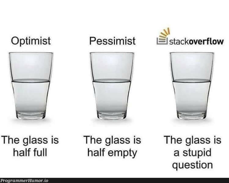Types of personalities   stackoverflow-memes, stack-memes, overflow-memes   ProgrammerHumor.io