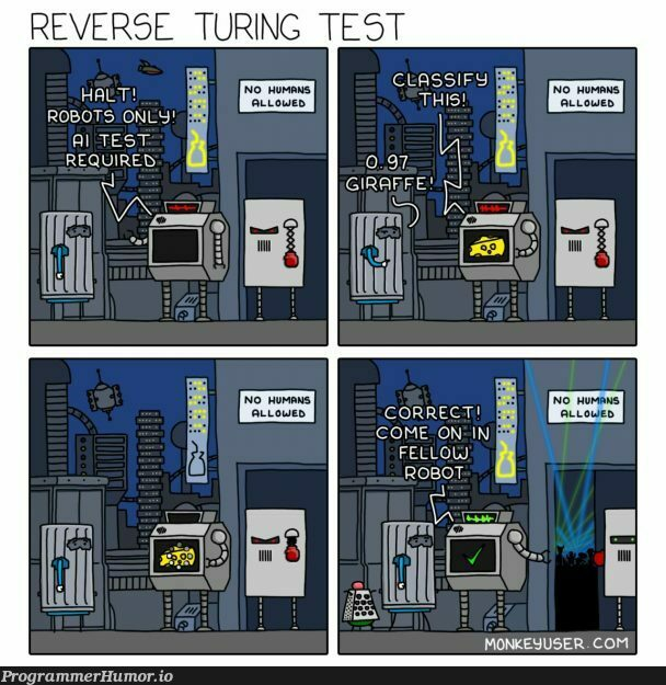 I'm the future...   test-memes, bot-memes, robots-memes   ProgrammerHumor.io