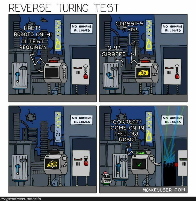 I'm the future... | test-memes, bot-memes, robots-memes | ProgrammerHumor.io