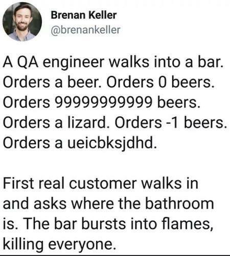 Production test cases be like | engineer-memes, test-memes, qa-memes, production-memes, product-memes | ProgrammerHumor.io