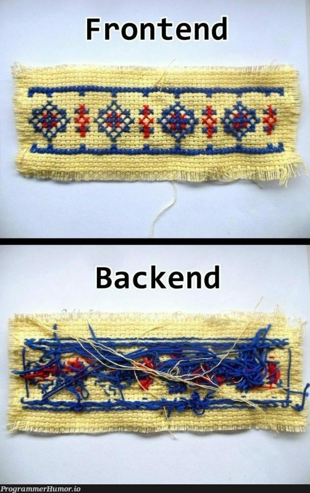 I worked hard on that | backend-memes, frontend-memes | ProgrammerHumor.io