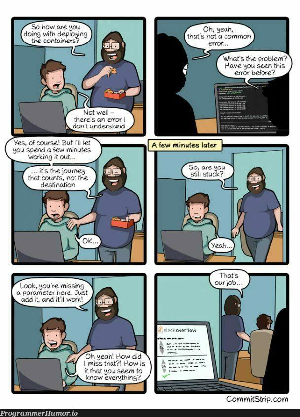 How it works | IT-memes, container-memes | ProgrammerHumor.io