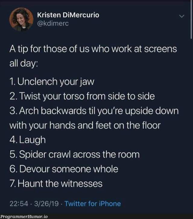 How to survive a day in the office | iphone-memes, rds-memes, ide-memes, twitter-memes | ProgrammerHumor.io