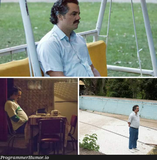 When you're taking a break but can't stop thinking about that bug... | bug-memes | ProgrammerHumor.io